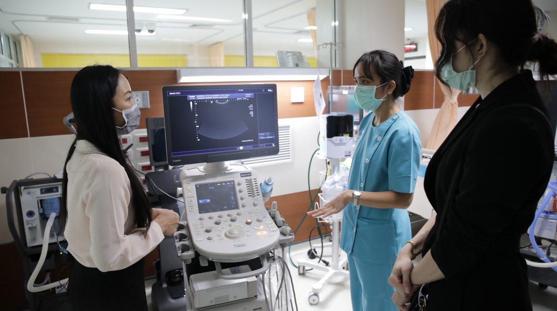 การสนับสนุนเครื่องอัลตร้าซาวด์ Canon รุ่น Xario100G ณ โรงพยาบาลธรรมศาสตร์เฉลิมพระเกียรติ